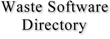 Waste Software Directory